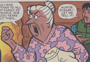 Auntie (The Case of the Cold Trail)