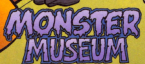 Monster Museum title card