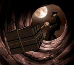 Ricky LaRue hiding his treasure