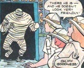 Gang meet Man-Mummy