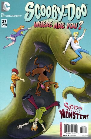 WAY 27 (DC Comics) front cover