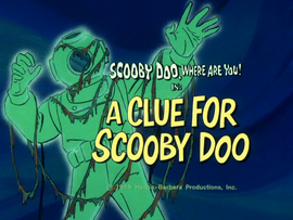 A Clue for Scooby Doo title card