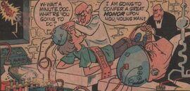 Dr. Frankenstone hooks up Shaggy
