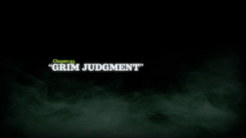 Grim Judgment title card