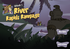 River Rapids Rampage title card