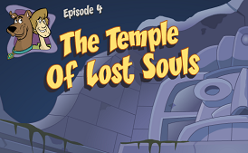 The Temple of Lost Souls title card