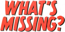 What's Missing? title card