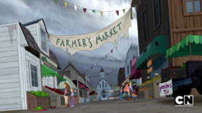 Farmers' market (Eating Crow)