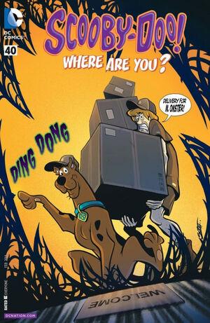 WAY 40 (DC Comics) front cover