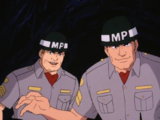 Fake military police officers (Scooby-Doo and the Alien Invaders)