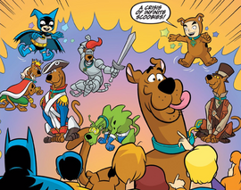 Imps summon Scoobys from all realities