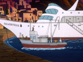 Lord Silvertree's yacht