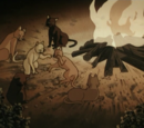 Settlers' cats (Scooby-Doo on Zombie Island)