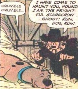 Scarecrow Ghost introduces himself