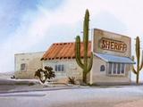 Tumbleweed County sheriff's office