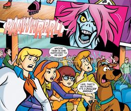 Gang meet the Roller Ghoul