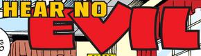 Hear No Evil title card