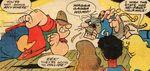 Dinky Dalton and Capt. Caveman collide