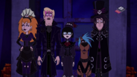 Gang as goths