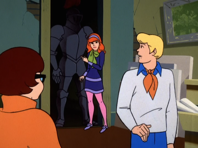 File:The gang meet the Black Knight of the County Museum.png
