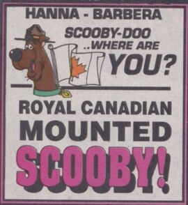 Royal Canadian Mounted Scooby! title card