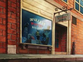 Velma's bookshop