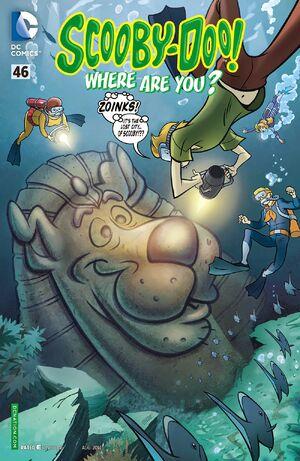 WAY 46 (DC Comics) front cover