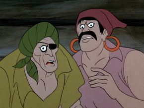 Ghost of Redbeard's crew (Go Away Ghost Ship)