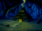 Three witches' home (Scooby-Doo! and the Goblin King)