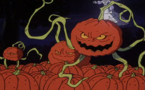 Pumpkin monsters (Witch's Ghost)