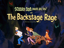 The Backstage Rage title card
