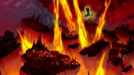 Evil Entity raises fire