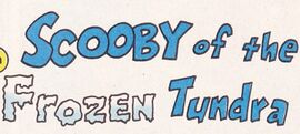 Scooby of the Frozen Tundra title card