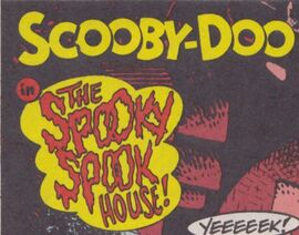 The Spooky Spook House! title card