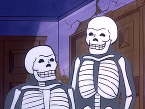 Living skeletons (The Dynamic Scooby-Doo Affair)