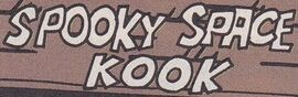 Spooky Space Kook (Archie) title card