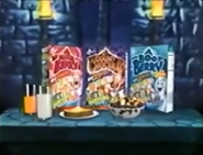Monster cereal boxes
