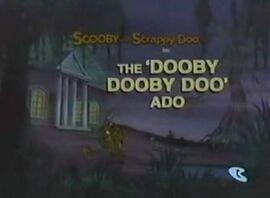 The 'Dooby Dooby Doo' Ado card