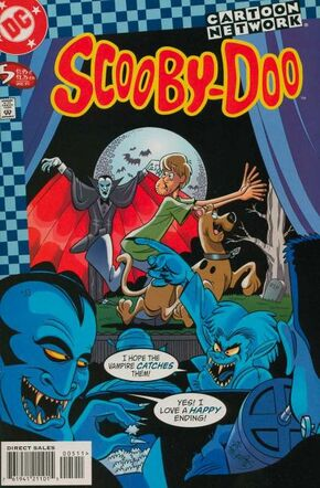 Scooby-Doo issue 5 (DC Comics) cover