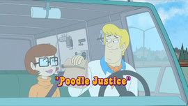 Poodle Justice episode title card
