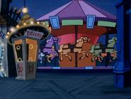 Funland merry-go-round