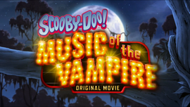 Music of the Vampire title card
