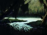 Louisiana bayou (Scooby-Doo on Zombie Island)