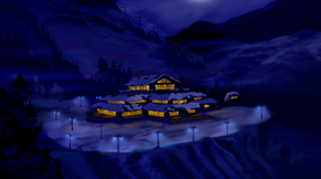 Mountain resort (There's No Creature Like Snow Creature)