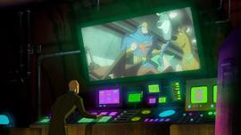 Superheroes on Zin's computer