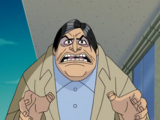 Scary-looking man (It's All Greek to Scooby)