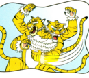 Two-headed tiger