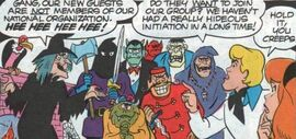 Madame La Zonkar and monster club