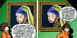 Painting watches Velma
