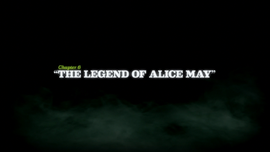 The Legend of Alice May title card